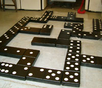 Giant Custom Dominoes